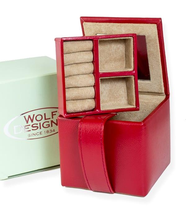 Jewelry Box Red